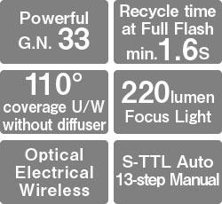 Z-330 strobe features